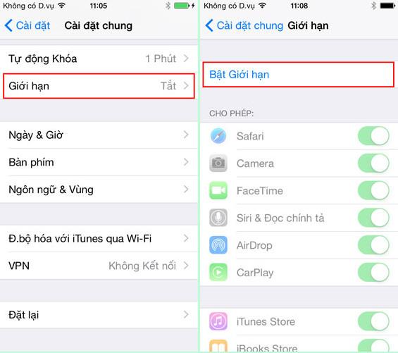 Thủ thuật khóa ứng dụng tin nhắn không cho đọc trên iPhone 6 Plus