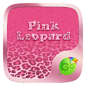 Pink Leopard GO Keyboard Theme