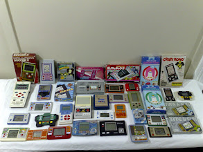 Photo: Handheld games collection
