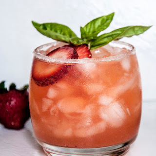 Strawberry Margarita for Cinco de Mayo