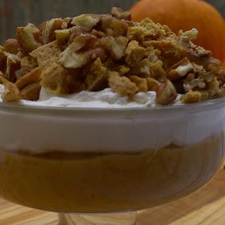 Pumpkin Pie Parfait Dessert