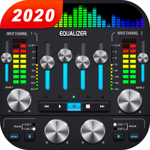 Music Player & Audio Player - 10 Bands Equalizer Icon