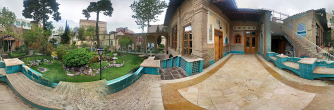 Photo: Moghadam house-museum, Tehran, Iran باغ موزه مقدم، تهران