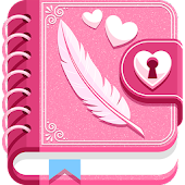 My Secret Diary with Lock and Photo
