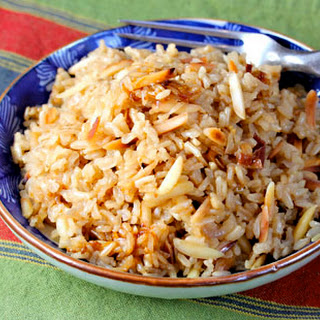 Brown Rice and Almond Pilaf Recipe