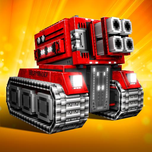 Cars On Line >> Blocky Cars Online Games Tank Aplikasi Di Google Play
