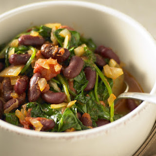 Red Kidney Beans With Spinach Recipes