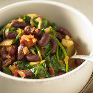 Red Kidney Beans With Spinach Recipes.
