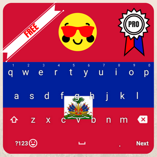 Haiti Keyboard Theme & Emoji