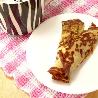 Low-Carb Cream Cheese Pancakes.