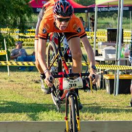 by Bert Templeton - Sports & Fitness Cycling ( cyclist, racing, race, cyclocross, cycling, texas, bike,  )