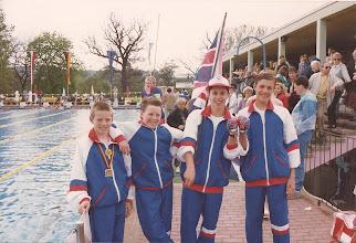 Photo: Paul Nicholls, Trevor Jones, Roy Burdett and Steve Willcocks