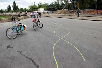 Photo: La ligne verte s'amuse.