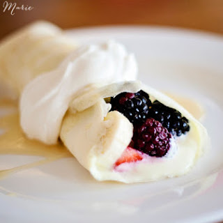 Tart Cream Cheese Crepe Filling.
