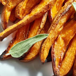 Honey and Brown Sugar Sweet Potatoes.