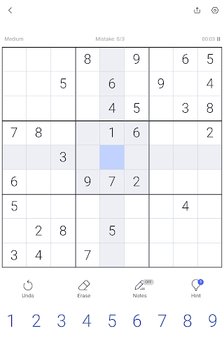 Sudoku - Sudoku puzzle, Brain game, Number game screenshots 20