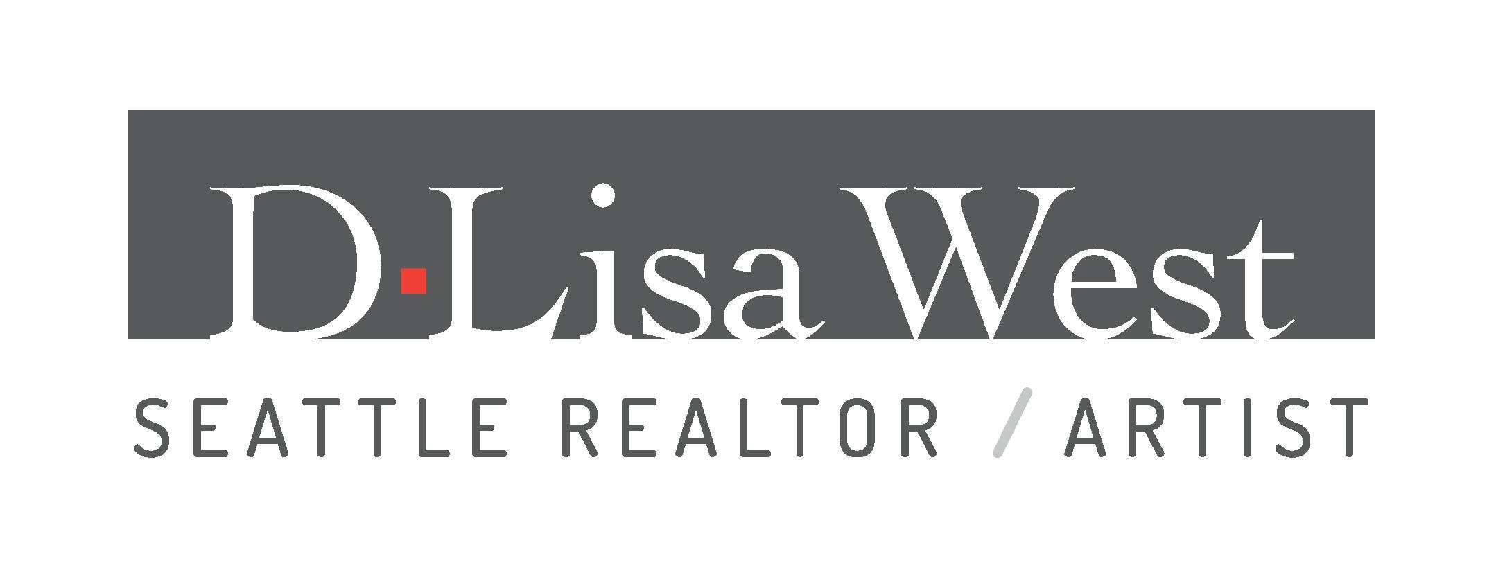 Logo for D.Lisa West, Seattle REALTOR/ARTIST