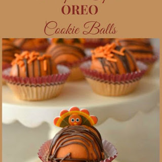 Pumpkin Spice OREO Cookie Balls