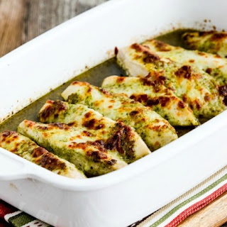 Baked Chicken With Pesto Sauce Recipes