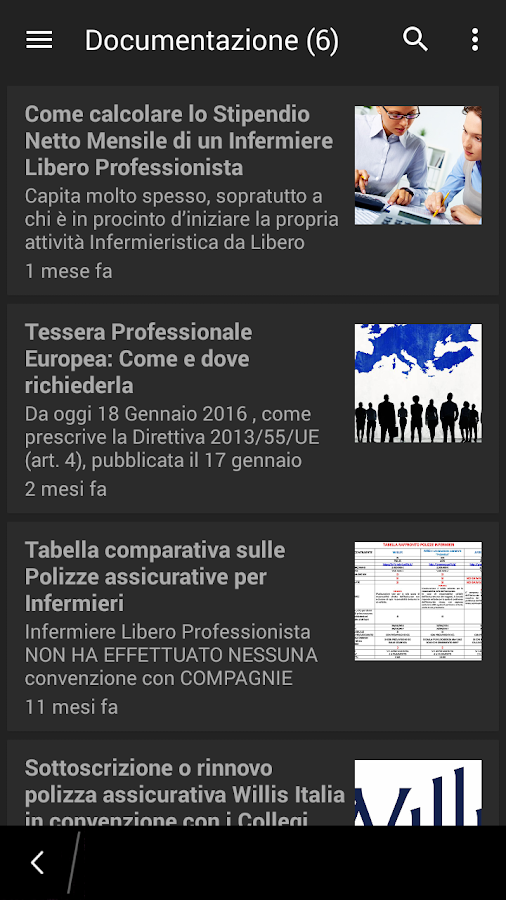 Infermiere Libero Professionista- screenshot