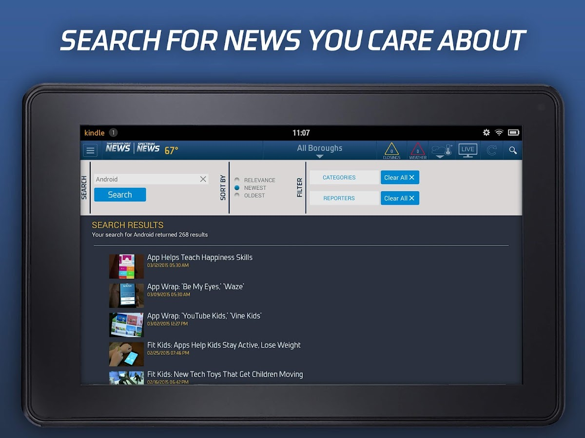 TWC News- screenshot