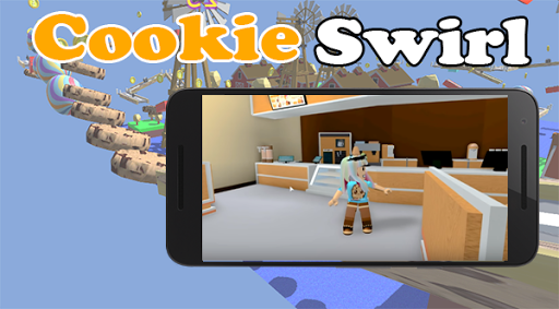 Crazy Cookie Swirl roblox's Obby Screenshot