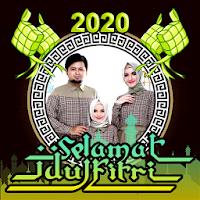 Kartu Ucapan Idul Fitri 2020 - Photo Frame Lebaran