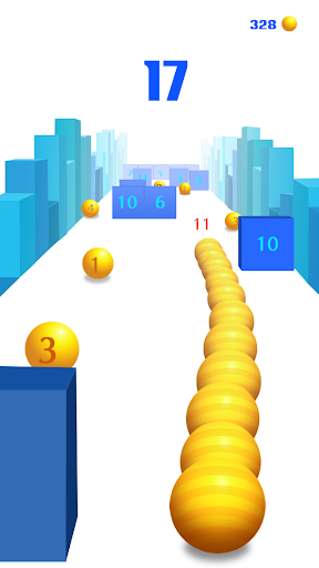 Snake vs Block 3D screenshot 1