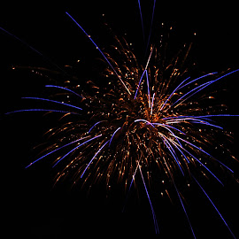 by Sandra Lee - Abstract Fire & Fireworks