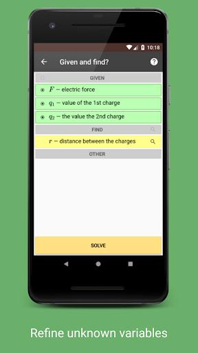 Betaphysics u2014 physics solver and formulas helper android2mod screenshots 4