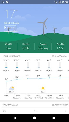 Weather Mate (Weather M8) 1.4.1 screenshots 1