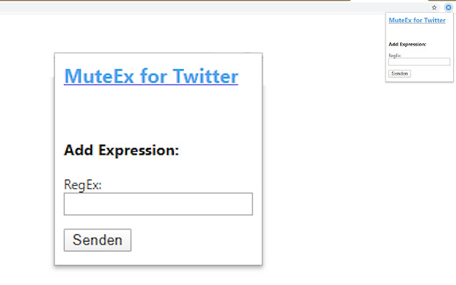 MuteEx for Twitter