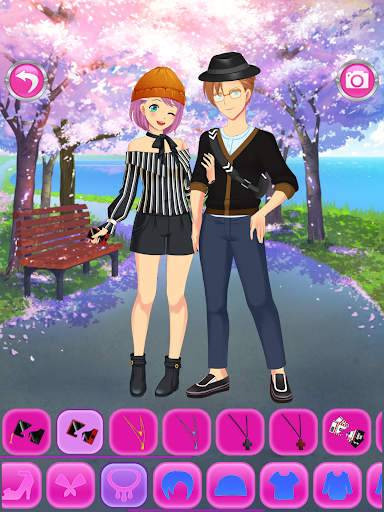 Anime Couples Dress Up Game android2mod screenshots 13