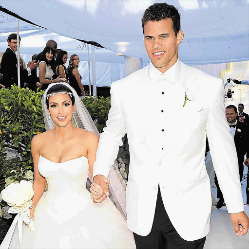 Kim Kardashian and Kris Humphries feature on E!. File photo.