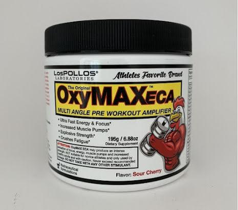 Lospollos OxymaxECA PWO - 195g