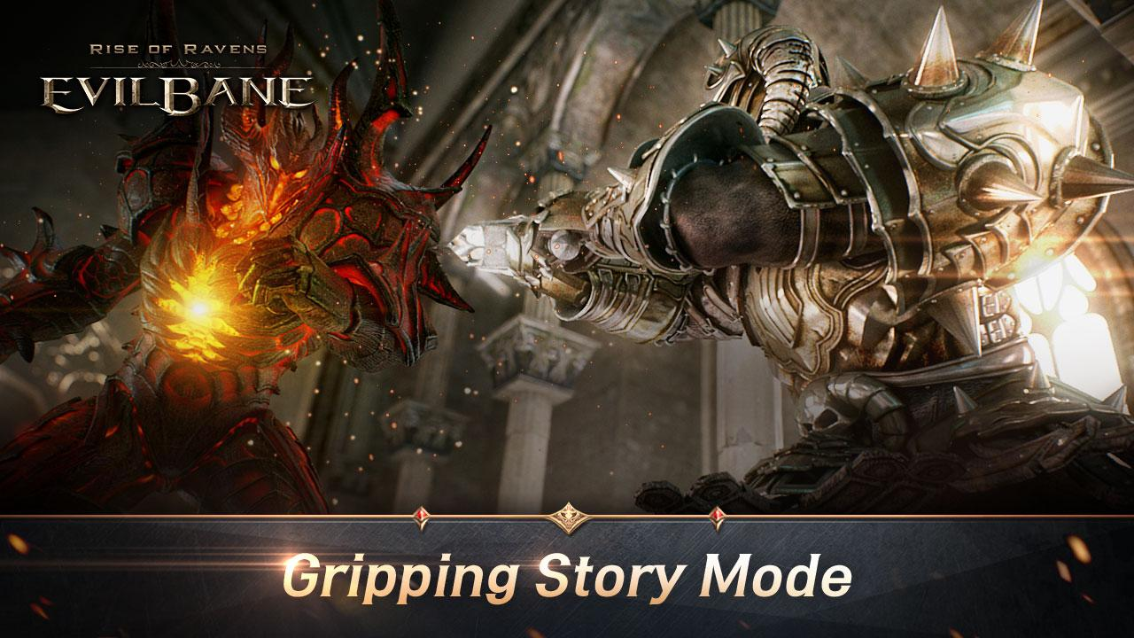 Screenshots of EvilBane: Rise of Ravens for iPhone