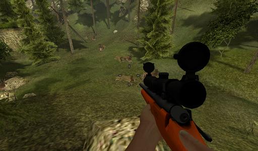 Lion Hunt Deer Rescue
