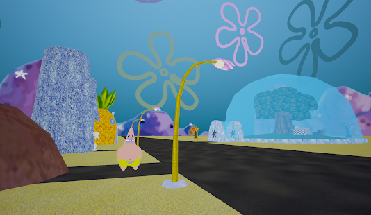 3D Bikini-Bottom (sponge yellow) Screenshot