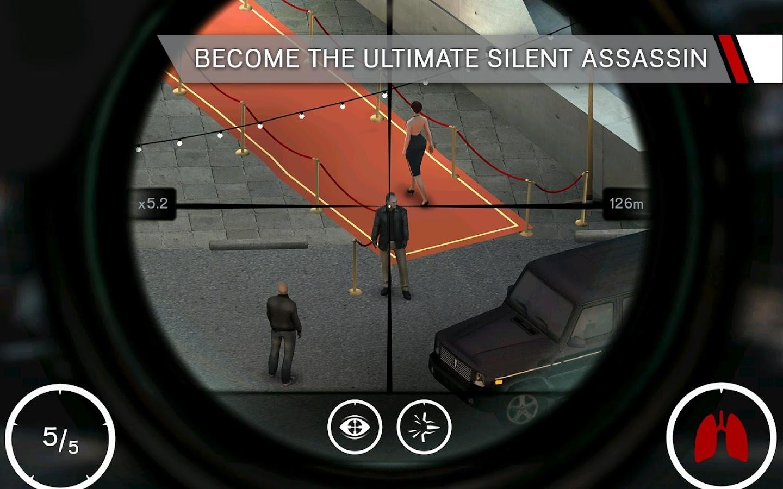 Hitman: Sniper- tangkapan layar