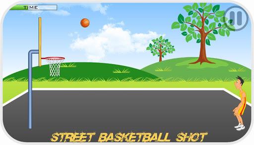 Street Basketball Shot