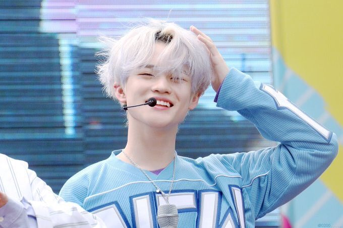 NCT Dream Chenle happy
