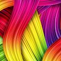 crazy color wallpaper icon