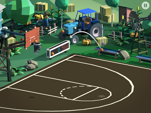 Basketball Online - screenshot