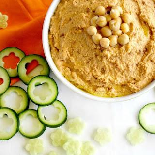 Vegan Sun-Dried Tomato Hummus (Vegan, Gluten-Free, Dairy-Free)