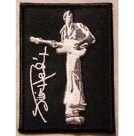 Jimi Hendrix - Photo Patch - Tygmärke