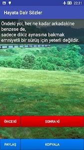 Hayata Dair Sözler screenshot 0