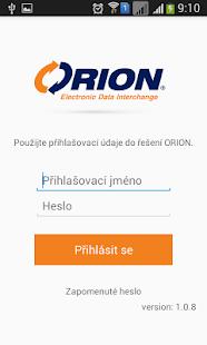 ORION EDI - náhled