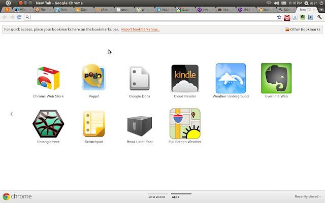 New Tab Key for Google™ Chrome