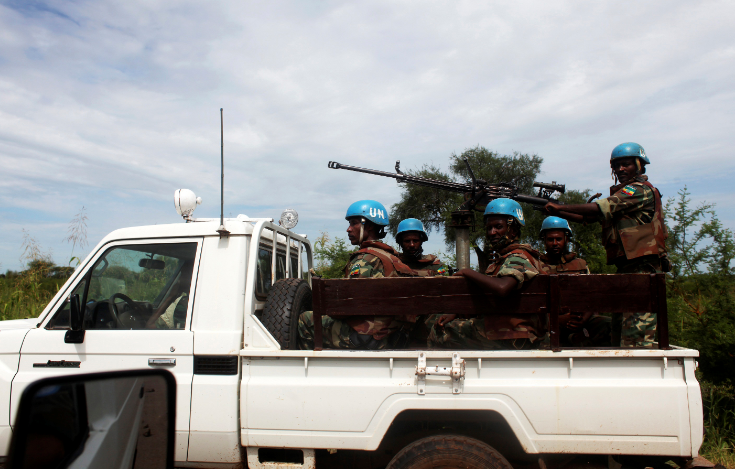 Ethiopian peacekeepers moved to Sudanese refugee camp after seeking asylum