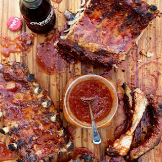 Grilled Baby Back Ribs with Coca-Cola Barbecue Sauce Recipe